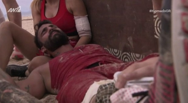 Nomads: Σοβαρός τραυματισμός Αλεξάνδρου