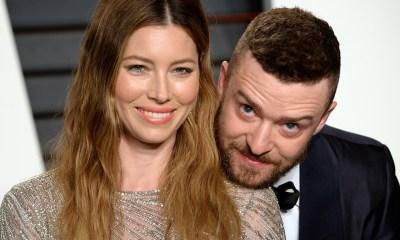 O Justin Timberlake εύχεται στην Jessica Biel