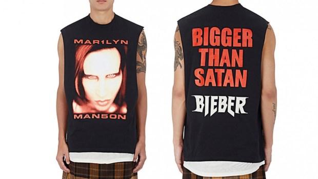 καβγάς του Marilyn Manson με τον Justin Bieber