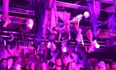 Halloween party της μπύρας BUD με τους Playmen και τον Β. Κοστοξενάκη
