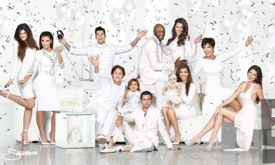 Kardashian Χριστουγεννιάτικες κάρτες