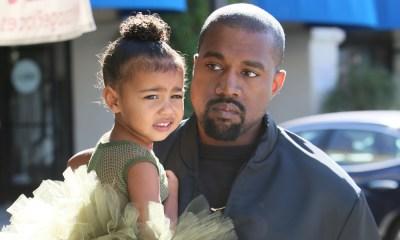 Kanye West με τη κόρη του North