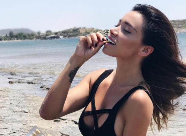 Όλγα Φαρμάκη ανέβασε την πρώτη της φωτογραφία με τον σύντροφό