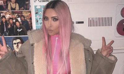 χρώμα των μαλλιών τηςKim Kardashian