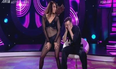 Μάγκυ Χαραλαμπίδου στις πρόβες του Dancing With The Stars