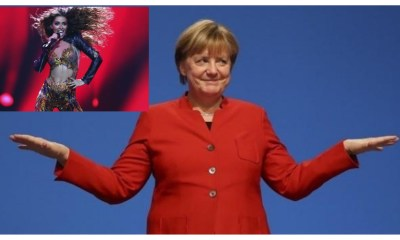 Angela Merkel είναι fan της Ελένης Φουρέιρα
