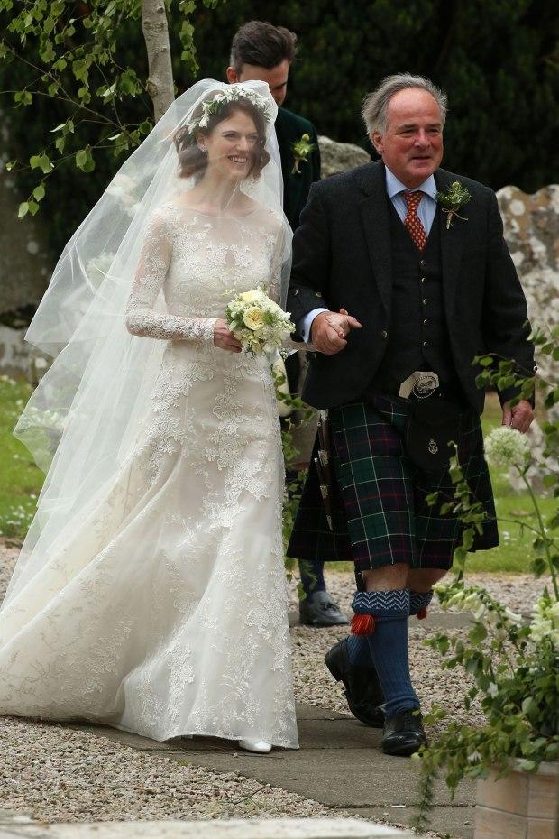 Kit Harington και η Rose Leslie παντρεύτηκαν