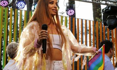 Ελένη Φουρέιρα αποθεώθηκε στο Gay Pride Cyprus