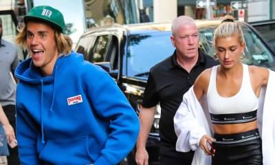Justin Bieber και τηνHailey Baldwin αγκαλιασμένοι