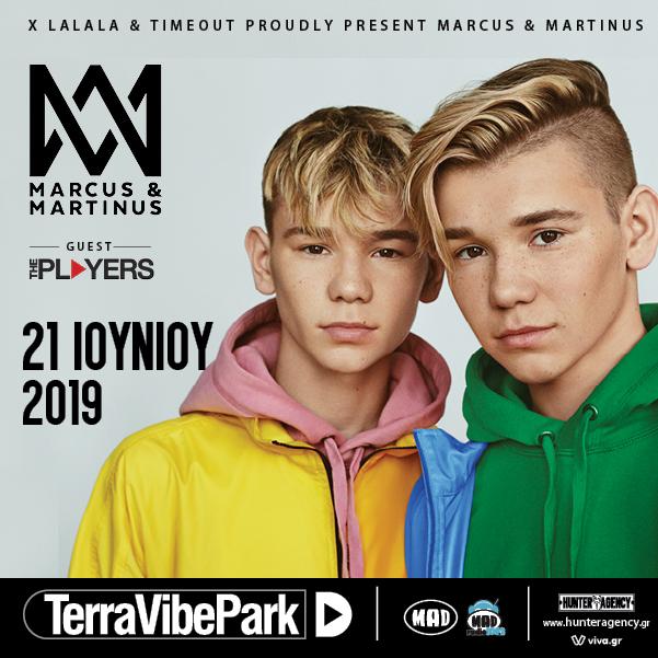 Marcus & Martinus έρχονται