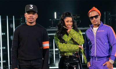 H Cardi B Chance The Rapper T.I Rhythm + Flow