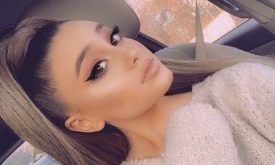 Η Ariana Grande συγχαίρει τη σωσία της Paige Niemann...