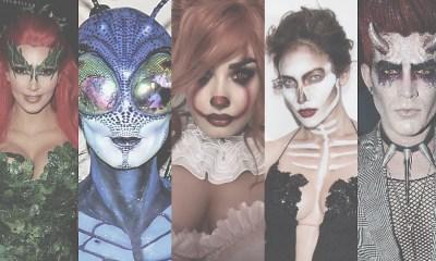 Τα πέντε καλύτερα make up μεταμφιέσεων των celebrities