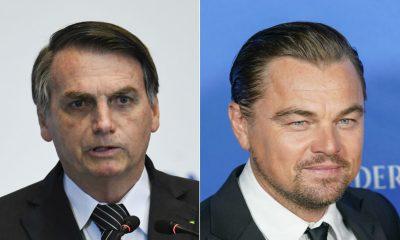 O Πρόεδρος της Βραζιλίας κατηγορεί τον Leonardo DiCaprio για τις φωτιές στην Αμαζονία
