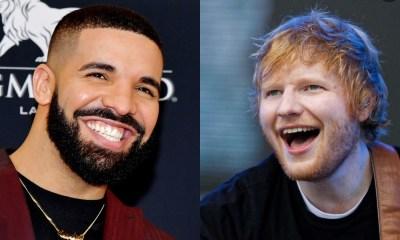 Ο Drake και ο Ed Sheeran στην κορυφή των streams αυτή τη δεκαετία