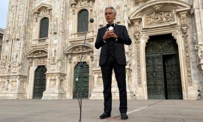 Η συναυλία του Andrea Bocelli έσπασε ρεκόρ τηλεθέασης στο Youtube την Κυριακή του Πάσχα!