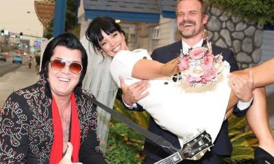 Elvis Presley πάντρεψε την Lily Allen και τον ηθοποιό David Harbour