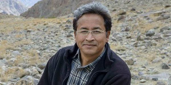 Sonam Wangchuk creates the world's first solar-heated military tent for the Indian Army