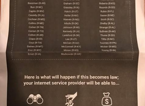 Senate Voted to Steal Internet Privacy