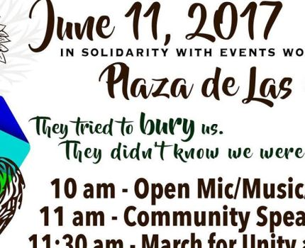 I will be at the March for Unity and Pride in Las …