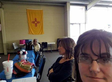I thoroughly enjoyed visiting Lea County Democrats