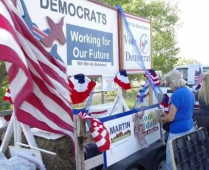 Socorro County Fair Parade. Democrat Awesome