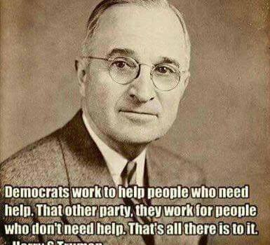 I am running a Harry Truman campaign. I'm the …
