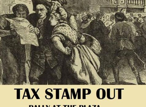 "Tax ""Stamp Out"" Rally"