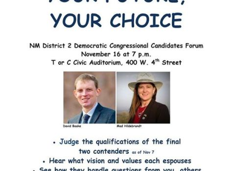 Democratic Party Forum 1 in southern New Mexico's …
