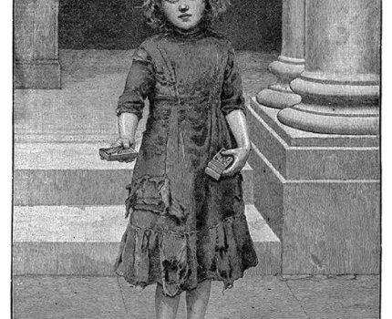 Art by J. Johnstone, 1890, accompanying The Little …