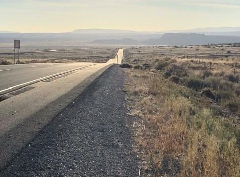 On the road to Grants, NM (between Belen & Laguna) …