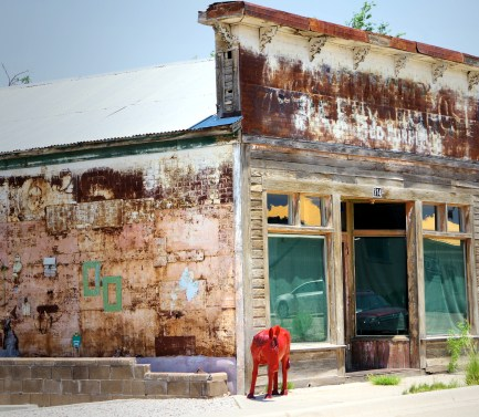 Carrizozo, New Mexico has a thriving artist enclave