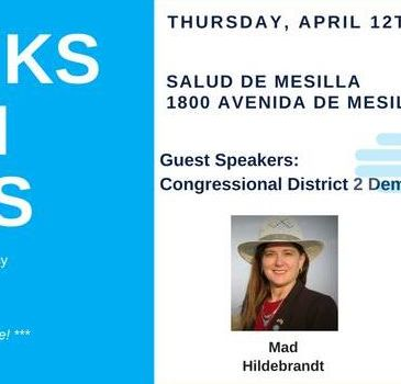 Las Cruces area folks – see you Thursday