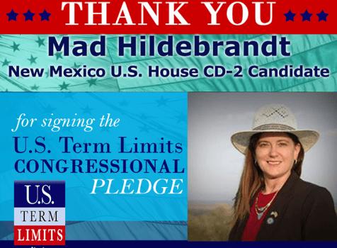 Mad Hildebrandt Signs Term Limits Pledge