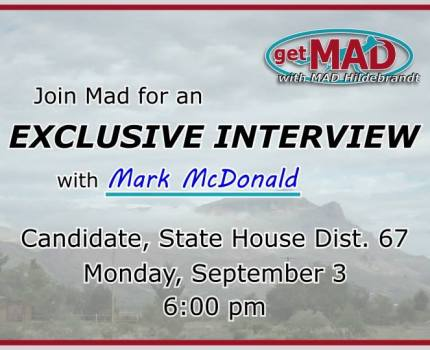 Join us this evening for an exclusive interview …