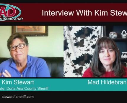 Please watch this interview with Kim Stewart, …