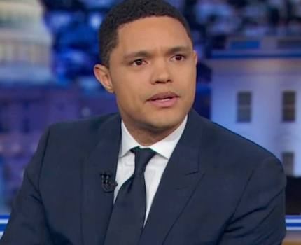 Listen to Trevor Noah in this non-televised moment …
