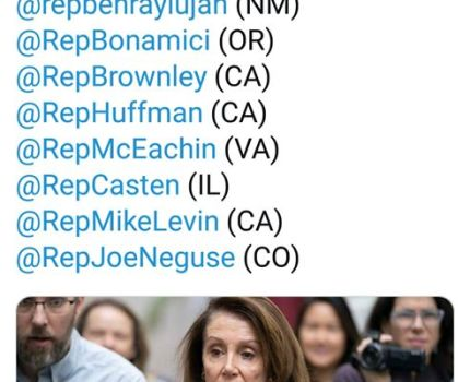 Nancy Pelosi has finalized the list of members of …