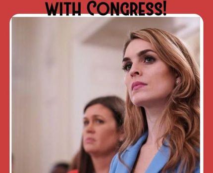 The House Judiciary Committee subpoenad Hope …