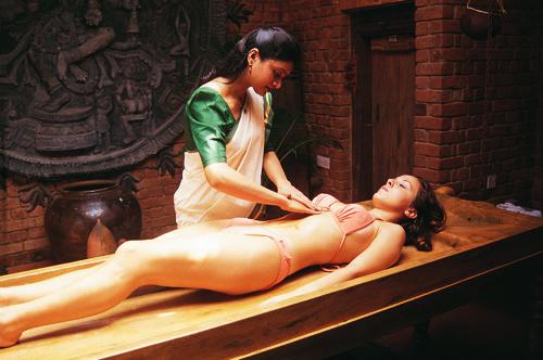 masaje ayurveda india