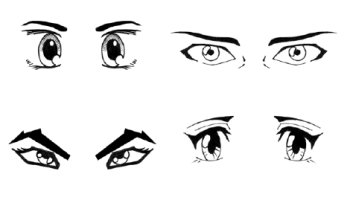 Sad Male Anime Eyes Hd Wallpaper Gallery