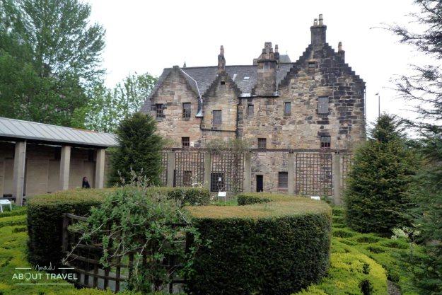 Exterior de Provand's Lordship, la casa más antigua de Glasgow