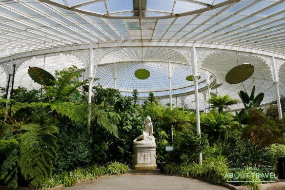 que ver en glasgow: jardín botánico