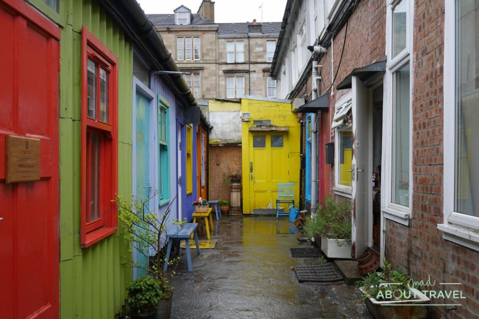 que ver en glasgow: hidden lane