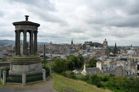 Vistas desde Calton Hill, Edimburgo