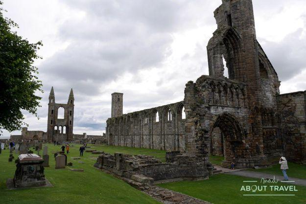 que ver en saint andrews: catedral
