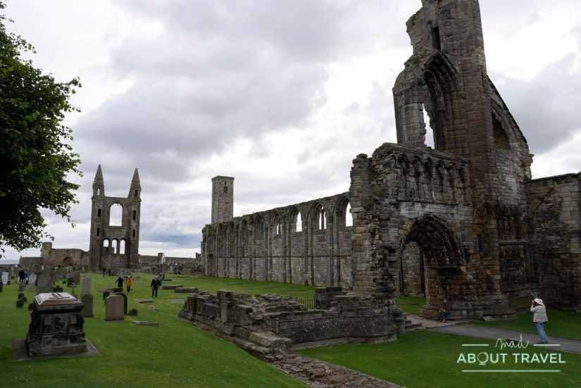 que ver en saint andrews: catedral