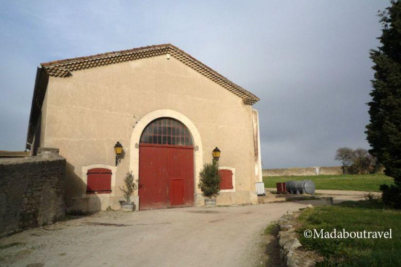 Bodega del Château Auzias