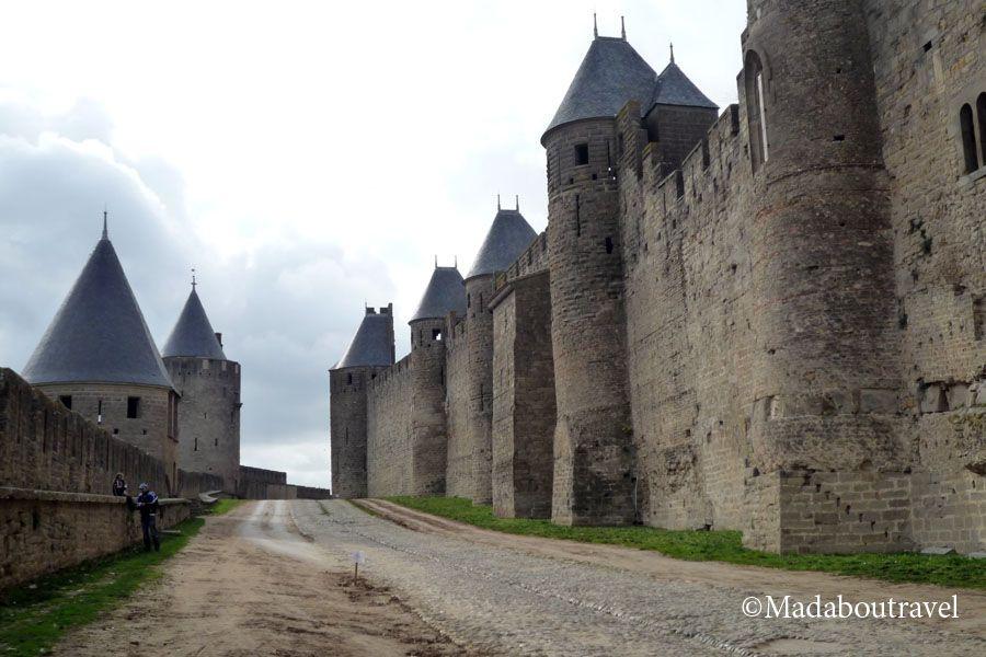 Murallas exteriores de La Cité de Carcassonne