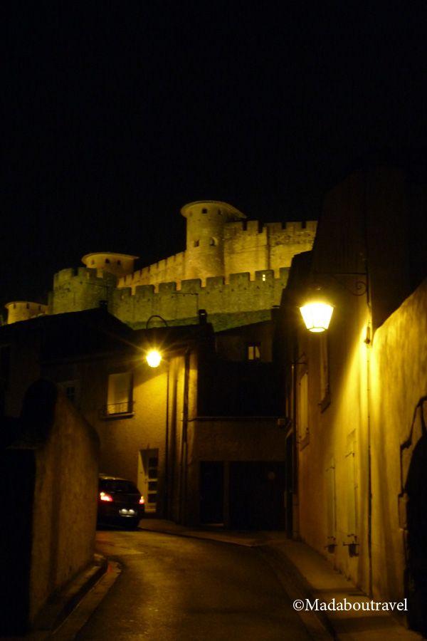 De camino a la Cité de Carcassonne